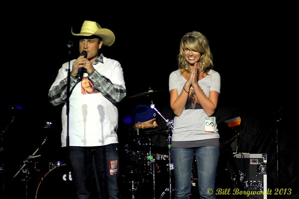 October 4, 2013 - Thomas Rhett, Jake Owen & Jason Aldean at Rexall