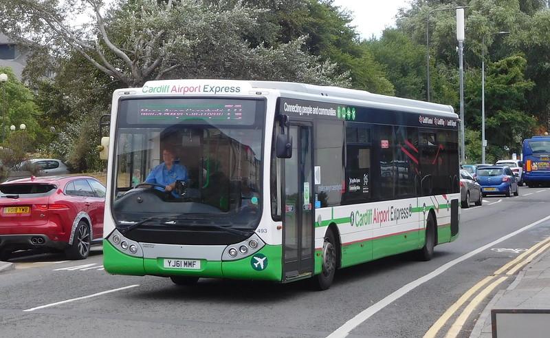 493 - YJ61MMF - Cardiff (Hemingway Road)