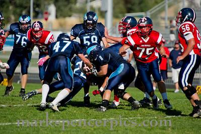 Football SVJV vs Salem Hills 9-29-2011