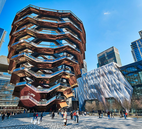 Hudson Yards NYC - The Vessel - The Shed