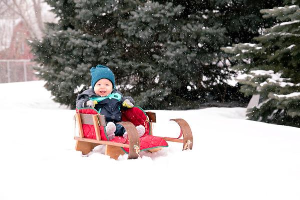 Bryce snowy day
