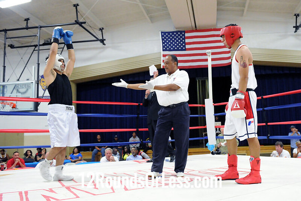 Bout 5 David Rodriguez, Team Rodriguez, Tallmadge -vs- Ronnie Hamayel, Mean Green BC, Youngstown, 152 lbs