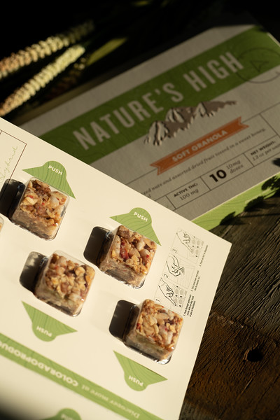Product Photography | Cannabis Edibles for Full Scale Co.