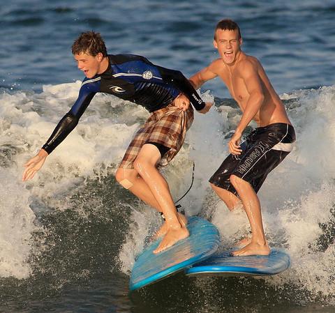2008 July 11 Croatan BZ Board Smash up Surfing