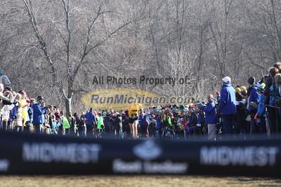 Girls' Seeded Race Finish - 2014 Footlocker Midwest Regional