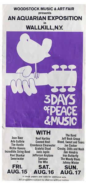 Woodstock - the movie, MY movie
