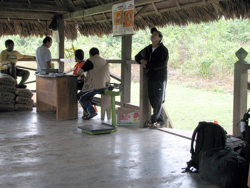 Boca Manu, Peru - Airport Check-in (2008-07-07).psd