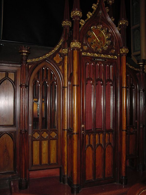 Notre Dame - Montreal 10 - Confessional.JPG