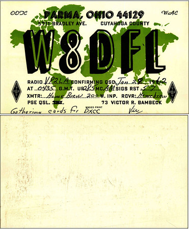 W8DFL QSL Cards - 2012-12-10
