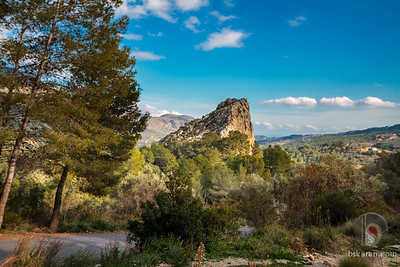Guadalest valley Spain