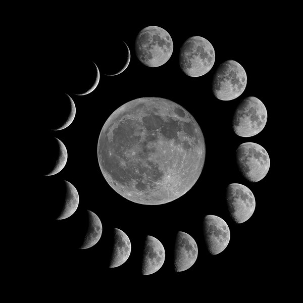 Lockdown Lunar Montage