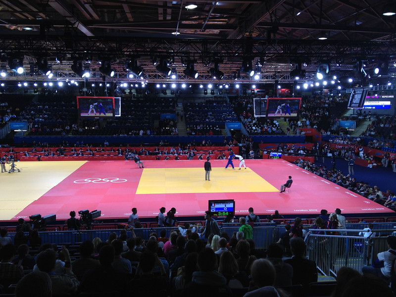 London ExCel for Judo Day 2