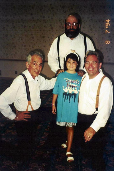 Davene with Israel's Hope 1994