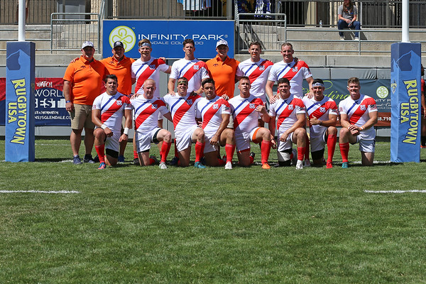 U.S. Coast Guard Rugby Men 2018 Rugbytown 7's