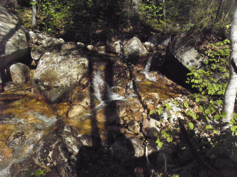 North fork stream which we would follow much of the way.JPG