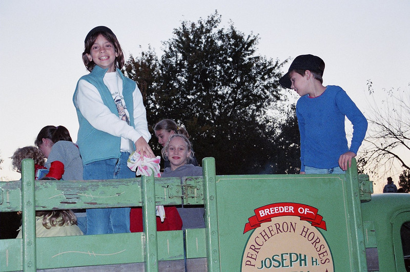 Hayride at the Taylor's. Oct. 2006