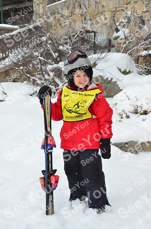Tiny Tots Ski School 2-21-13