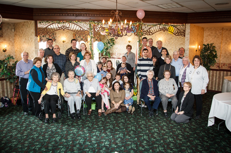 Mary's 95th Birthday Party (March 23, 2014)