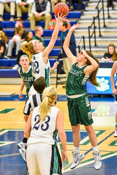Girls Basketball - Varsity:  Loudoun Valley vs Woodgrove 1.15.2015 (photos by Michael Hylton)
