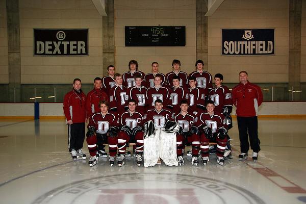 Dexter Hockey Team Pics 2007-2008