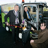 """Mayor Michael Carr, Jim McCorry, Director of Technical and Leisure services and Terry Hearty, Chairperson Technical and Environmental services pictured at the launch of the """"Just Bin It"""" campaign. 06W46N44"""