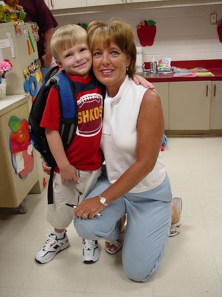Matthew 1st Day Kindergarten