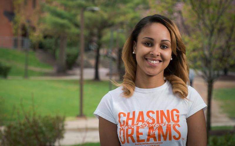 Cordelia Cranshaw for graduation profile