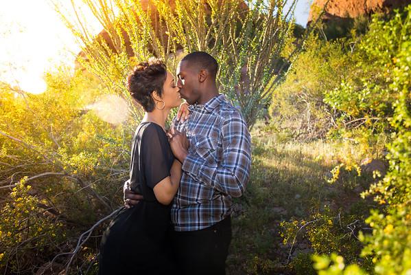 Kiara and Kamel Engagement