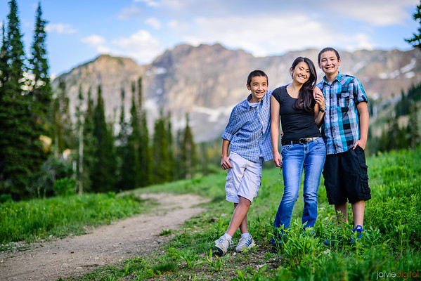 Albion Basin Family Pictures