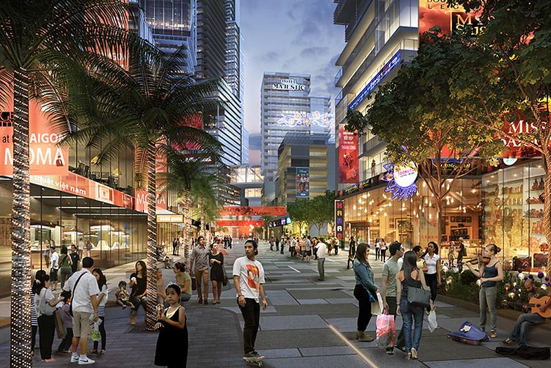 District 4 Riverfronnt Redevelopment - Plaza