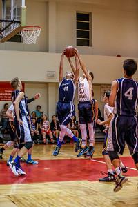 Mar 1 - Basketball - 8th Gr Gold vs SEAS Blue
