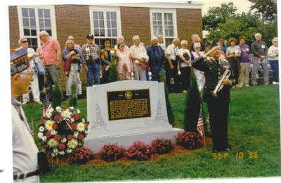 Hyannis, Cape Cod - Massachusetts - Battle of the Bulge Monument Dedication
