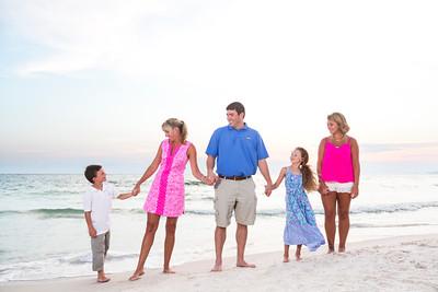 The Neyland Family - Pretty in Pink ,  Panama City Beach 2015 - Sun Fun Photo