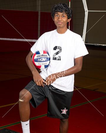 2011-09-08 Volleyball Boys SJS Upper School Portraits