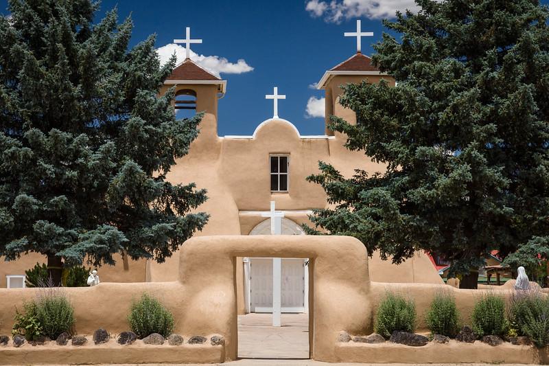 San Francisco de Asis Mission Church, Taos, New Mexico