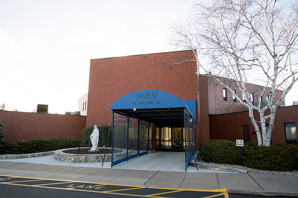 02/19/20 Wesley Bunnell | StaffrrThe front entrance to Monsignor Bojnowski Manor which features both long term and short term skilled nursing care.
