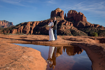 Red Rock Wedding with Multiple Locations