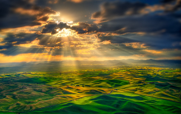 Lighting the Hills