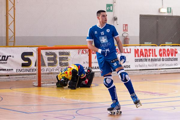 BDL Correggio Hockey vs Galileo Follonica