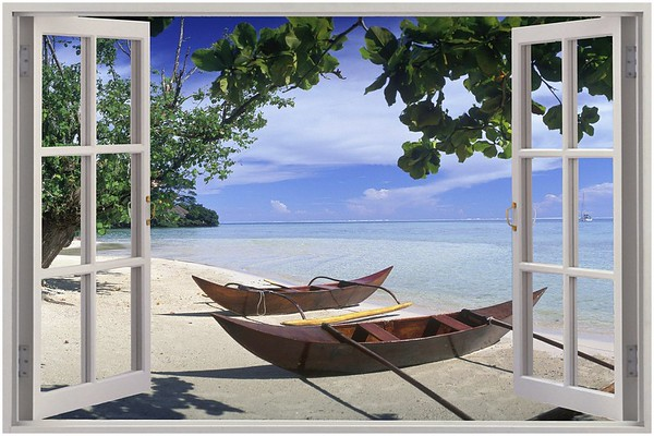 Canvas - 3D Window View