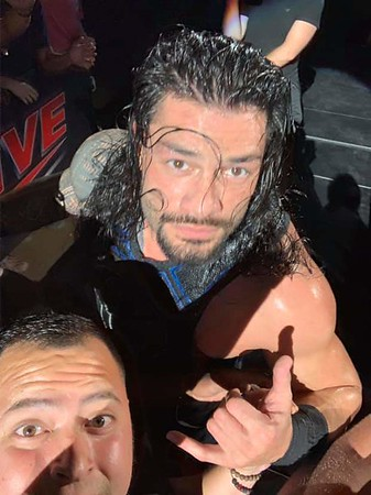 Roman Reigns - WWE Live College Station