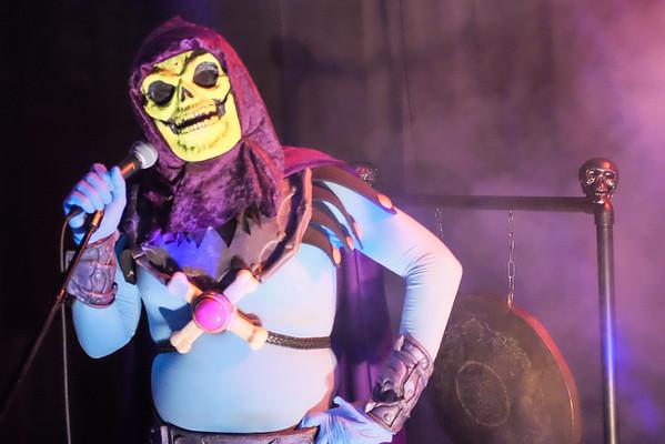 Skeletor Karaoke Gong Show