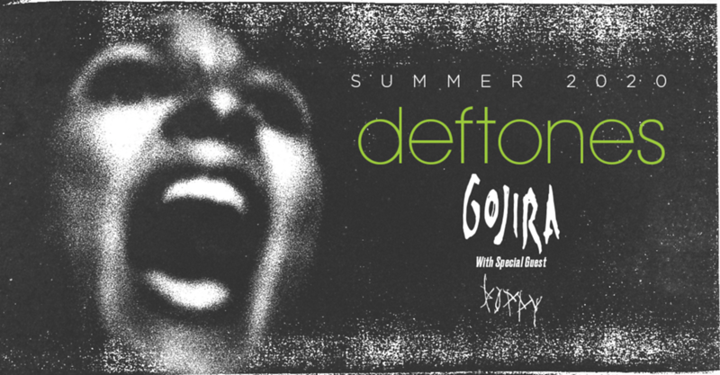 Deftones Announce Summer 2020 U.S. Tour