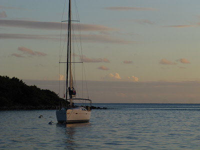 Sailing the BVI - Dec 2011