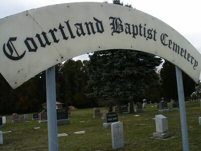 Courtland Baptist Cemetery, Courtland