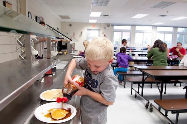Kindergarten Flapjack Breakfast
