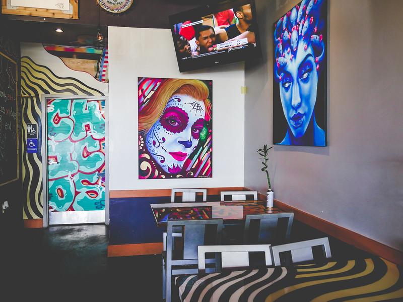 Art at Tacos & Tattoos Food & Culture