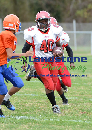 Delmar Middle School Football vs Laurel
