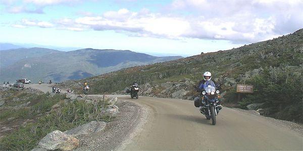 225c Mt Washington road, ascent . photo credit, Gringo & Mrs Gringo