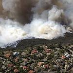 2007 Fire in Irvine foothills